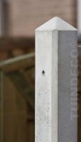 betonpaal diamantkop grijs