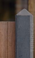 betonpaal diamantkop antraciet