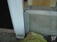 beton muurprofiel