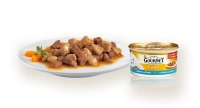 Gourmet Gold Fijne hapjes Zalm & Kip 85 gram