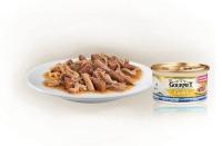 Gourmet Gold Luxe mix Zeevis met saus van spinazie 85 gram