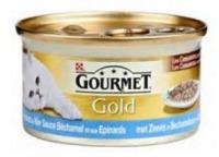 Gourmet Gold Cassolettes Zeevis in Bechamelsaus met Spinazie 85 gram