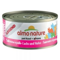 Almo Nature Legend Zalm & Kip 70 gram