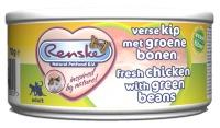 Renske Kat vers vlees Kip met groene bonen Fiber 70 gram