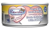 Renske Kat vers vlees Kip & konijn Pate 70 gram