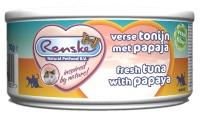 Renske Kat vers vlees Tonijn met Papaja Fiber 70 gram