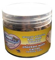 Renske Kat gezonde beloning Kip met wortel 100 gram