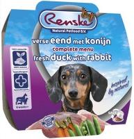 Renske Hond vers vlees Eend & Konijn 100 gram