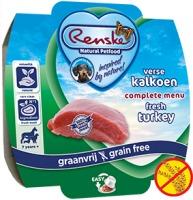 Renske Hond vers vlees Kalkoen Graanvrij 100 gram