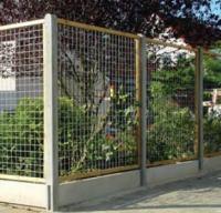 Gaasscherm met houten kader 60cm